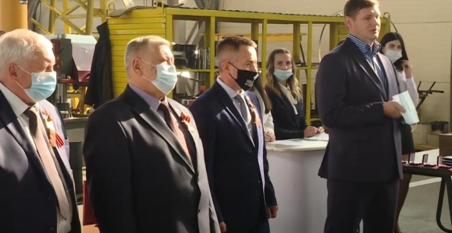 Глава Киселевска поздравил машиностроителей