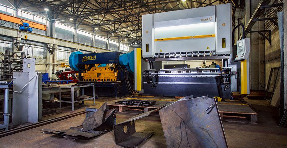 Production of mining equipment
